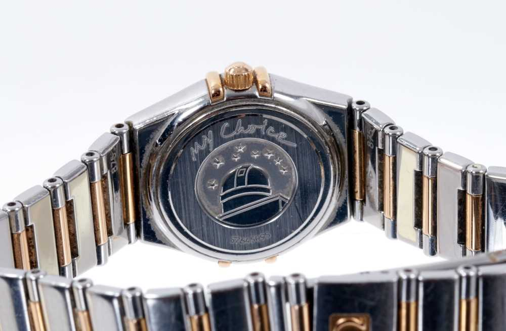 Ladies Omega Constellation watch, with box and papers - Image 4 of 5