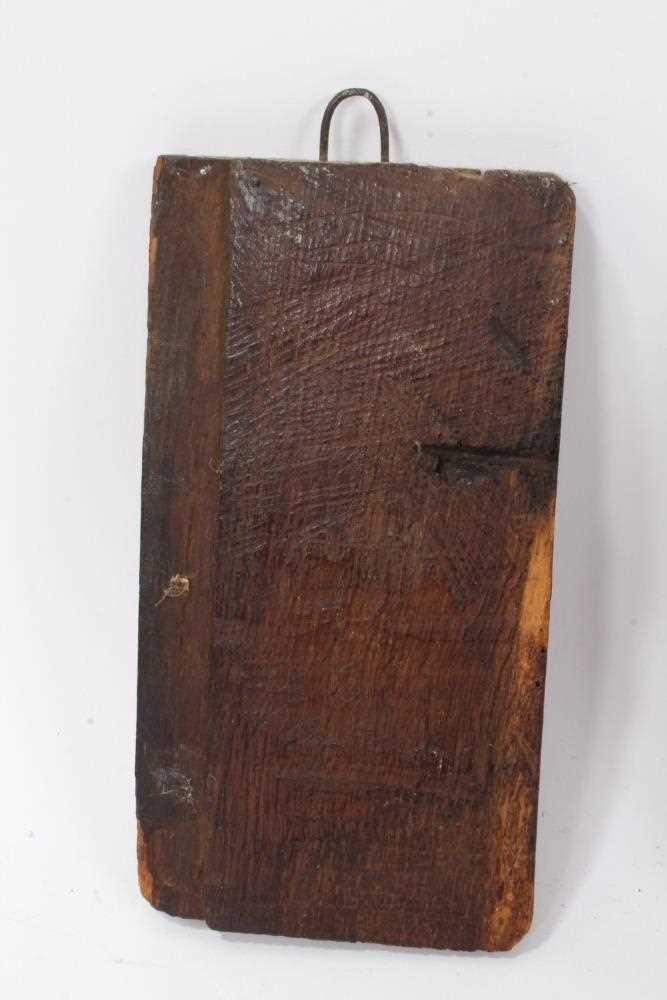 Collection of 17th century and later carved panels and furniture mounts - Image 4 of 9