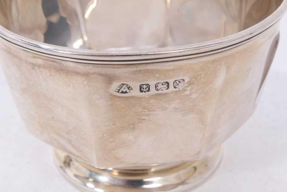 Three piece silver bachelors coffee set - Image 8 of 10