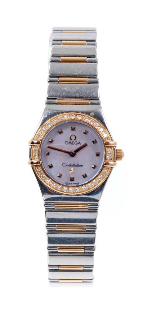 Ladies Omega Constellation watch, with box and papers