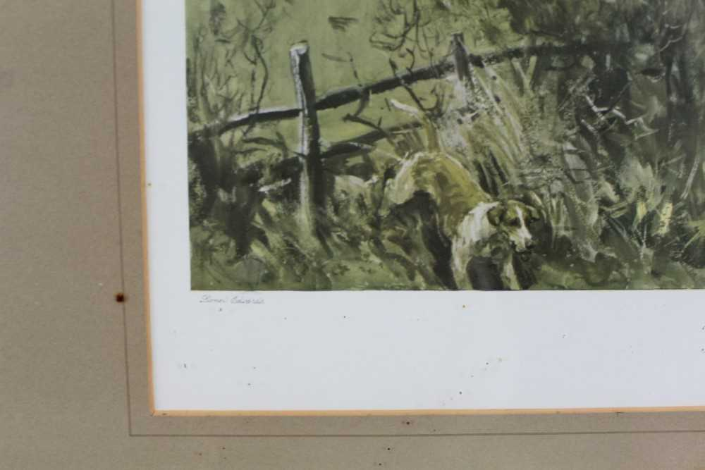 *Lionel Edwards (1878-1966) set of four hunting prints - The Old Surrey & Burstow, The South Notts, - Image 10 of 21