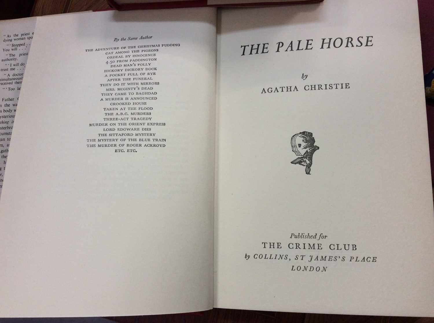 Selection of Agatha Christie Crime Club Choice first editions, together with other 20th century hard - Image 11 of 18