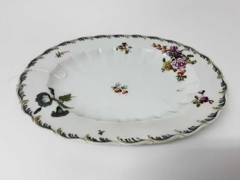 A Chelsea oval dish, circa 1760