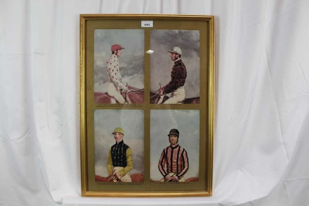 After Harry Hall, pair of coloured prints - Famous Jockeys, published by The Tryon Gallery, 57cm x 4