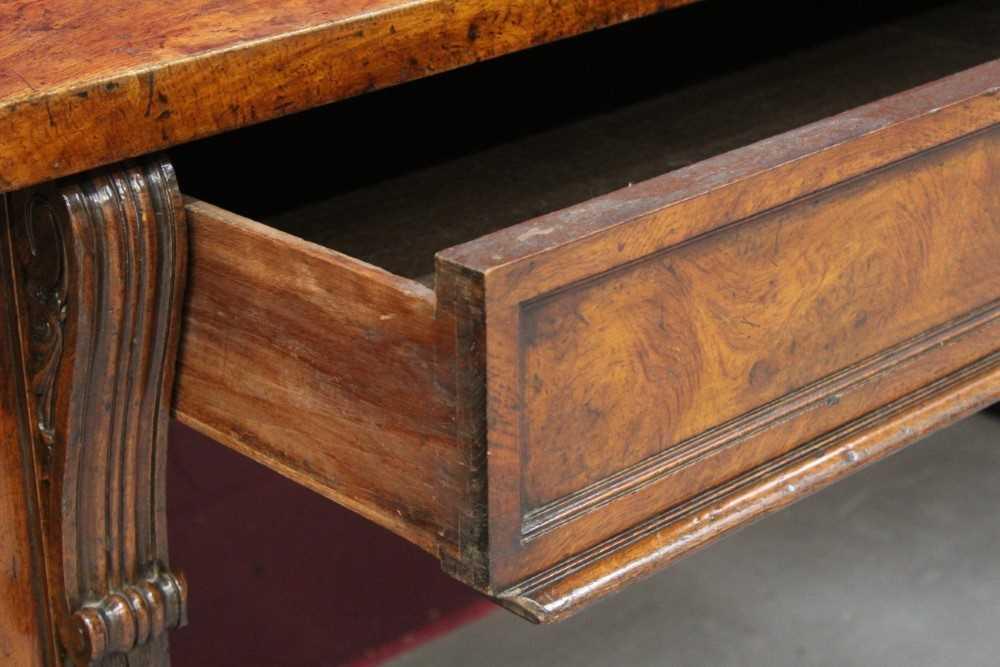 Very large late Regency pollard oak sideboard - Image 5 of 11