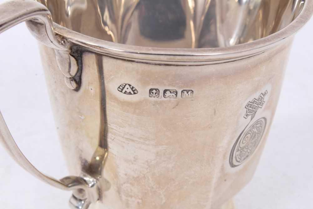 Three piece silver bachelors coffee set - Image 10 of 10