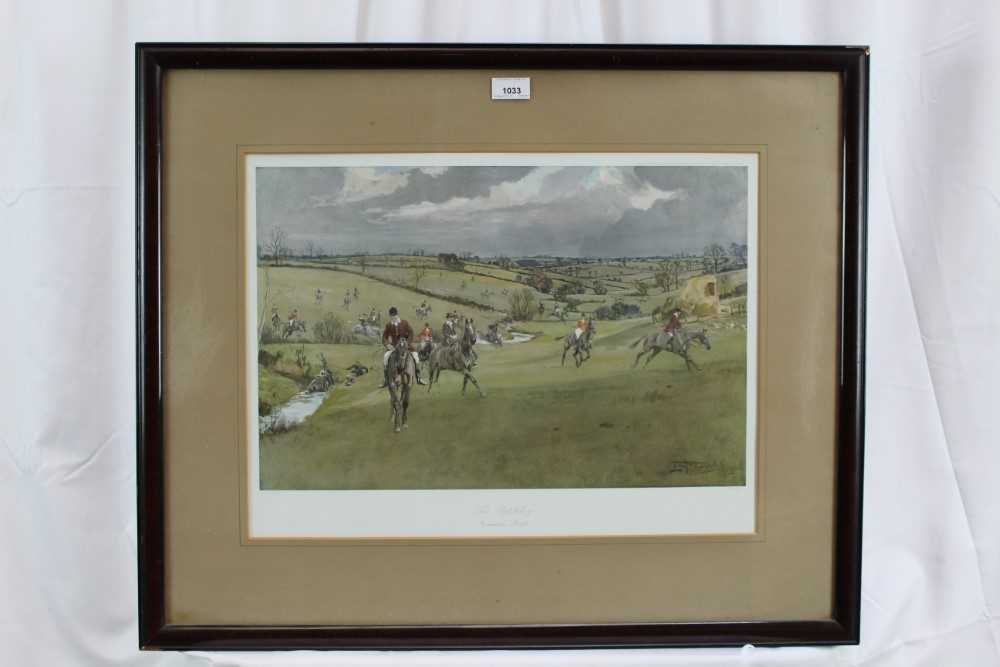 *Lionel Edwards (1878-1966) set of four hunting prints - The Old Surrey & Burstow, The South Notts, - Image 2 of 21