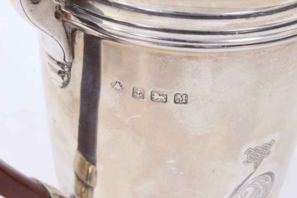 Three piece silver bachelors coffee set - Image 4 of 10