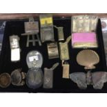 Fine collection of late 19th / early 20th century brass novelty needle cases