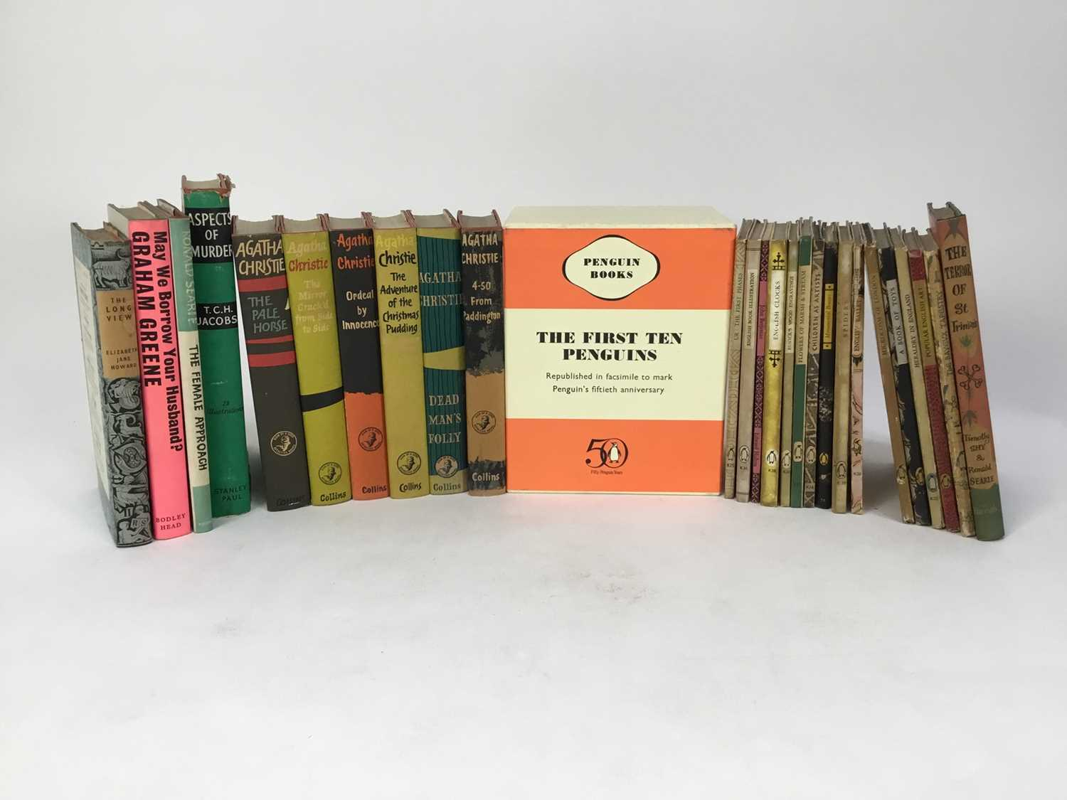 Selection of Agatha Christie Crime Club Choice first editions, together with other 20th century hard