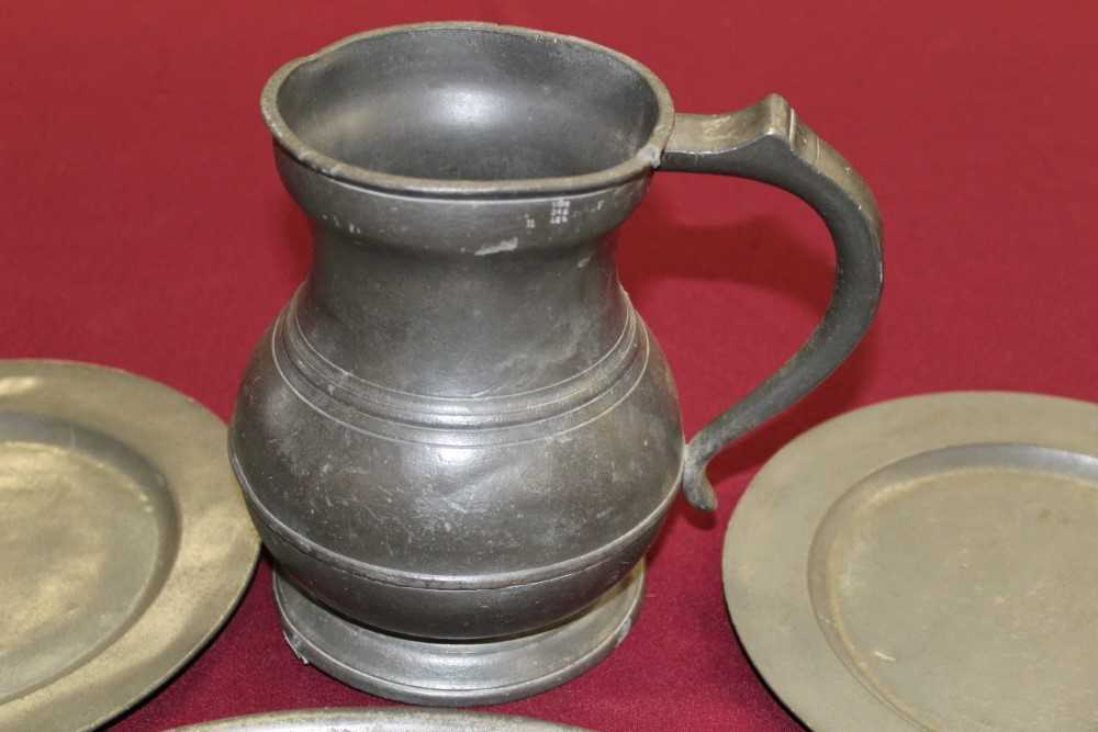 Good extensive collection of pewter - Image 2 of 13
