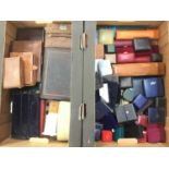 Collection of jewellery boxes various (two boxes)
