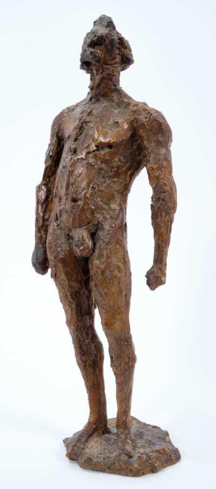 *Dame Elisabeth Frink (1930-1993) plaster maquette - Warrior, 1957 - Image 5 of 5