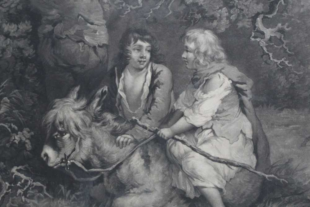 Late 18th century mezzotint by W. Ward after George Morland - The Woodcutter, published 1792 by Orme - Image 6 of 10