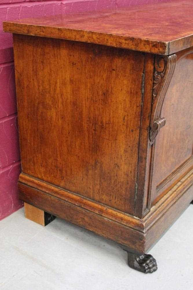 Very large late Regency pollard oak sideboard - Image 9 of 11