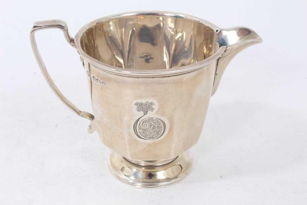 Three piece silver bachelors coffee set - Image 9 of 10