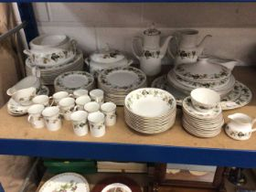 Royal Doulton Larchmont part tea, coffee and dinner service