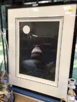 Peter Smith signed limited edition print- 'A fools moon', signed and numbered 269 of 295 in glazed f