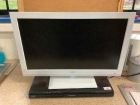Panasonic Blu ray player & Logik TV