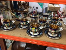 Capodimonte Six place tea set