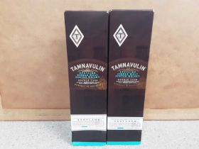 Two bottles of Tamnavulin Speyside single malt scotch whisky 70cl, in original boxes