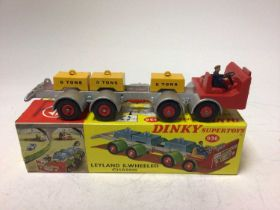 Dinky Supertoys Leyland 8-wheeled chassis No. 936 boxed