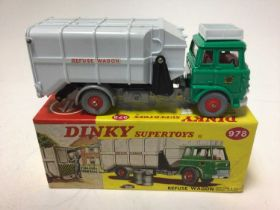 Dinky Supertoy refuse wagon No. 978 boxed