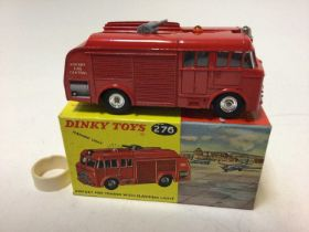 Dinky airport fire tender with flashing light No. 276 boxed
