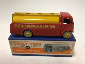 Dinky A-E-C tanker Shell Chemicals No. 591 boxed