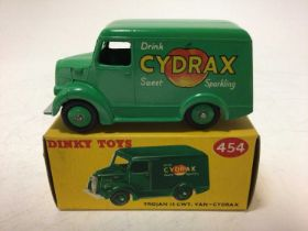 Dinky Trojan 15 cwt van-cydrax No 454, boxed