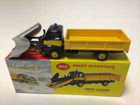 Dinky Supertoys snow plough No. 958 boxed