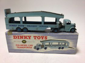 Dinky Pullmore car transporter No. 582 boxed