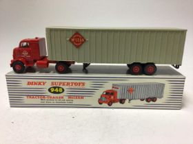 Dinky Supertoys tractor-trailer Mclean No. 948 boxed
