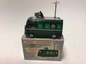 Dinky Supertoys BBC TV Roving Eye vehicle No. 968 boxed