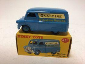 Dinky Bedford 10 cwt Van Ovaltine No 481, boxed