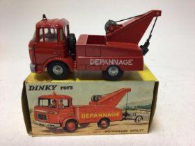Dinky French issue Dépanneuse Berliet No 589, boxed