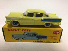 Dinky Studebaker President Sedan No 179, boxed