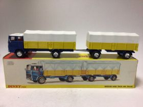Dinky Mercedes-Benz truck and trailer No. 917 boxed