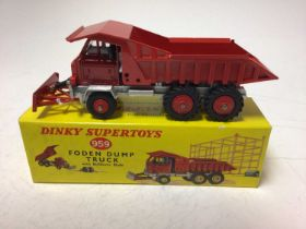 Dinky Supertoys Foden dump truck No.959 boxed