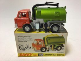 Dinky Johnson road sweeper No. 451 boxed
