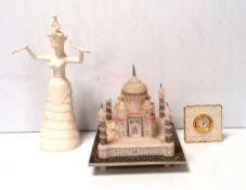Misc Lot Oriental Temple,