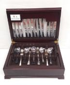 Cased Part Canteen of Cutlery