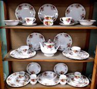 Royal Sutherland Tea Service,