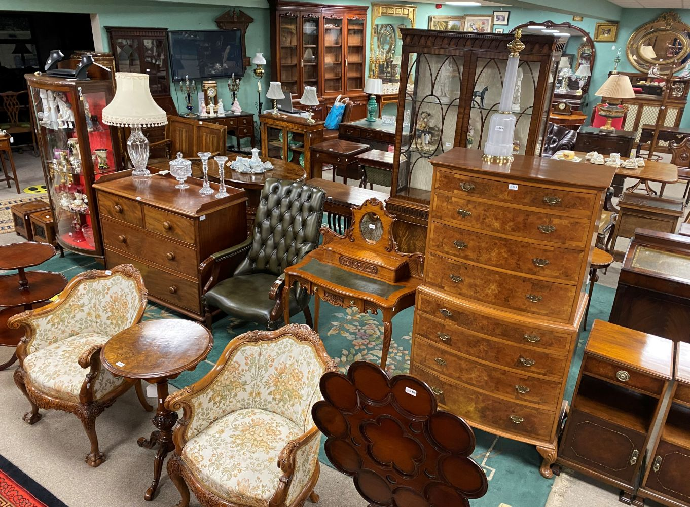 ONLINE Auction of Antique Furniture, Fine Art and Collectables  on behalf of Important Clients on SATURDAY 27th FEBRUARY AT 12.00PM