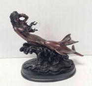 Resin Figure of a Mermaid