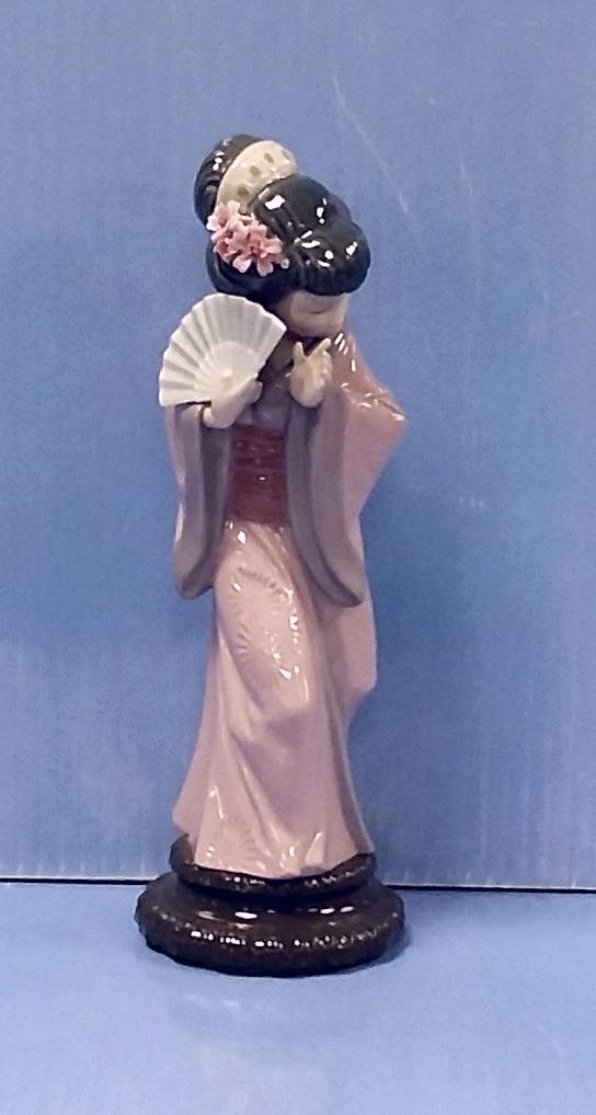 Lladro Figure Geisha Girl 29cm H