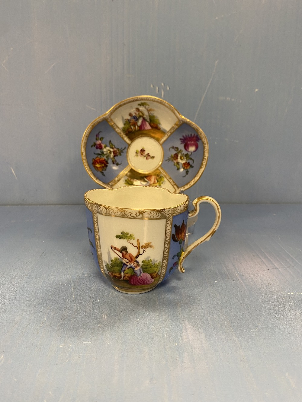 Meisen Cup & Saucer