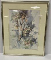 Framed Print of a Girl