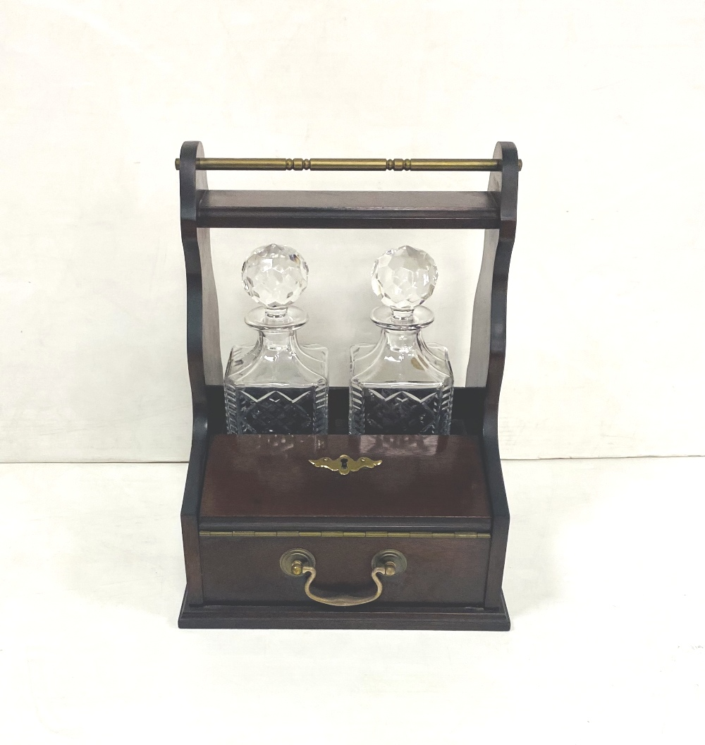 2 Decanter and 2 Glass Tantalus