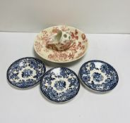 5 Pcs of Royal Staffordshire Clarice Cliff